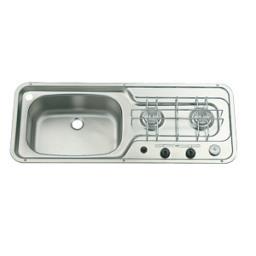 Combine smev inox 800x320 - Evier plaque de cuisson integree ...