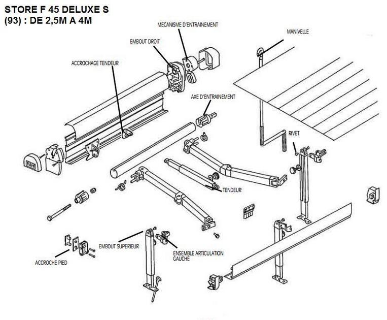 store fiamma f45 deluxe s. Black Bedroom Furniture Sets. Home Design Ideas